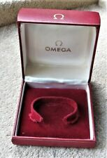VINTAGE OMEGA WATCH CASE BOX  1960 - EX CLOSED RETAILER -- NICE - CODE 5501