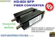 BENESTON HD-SDI fiber converter 20KM/DVB-ASI/Broadcast/LC/1080i/audio Support