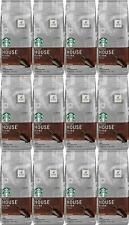 12 PACK Starbucks House Blend Ground Coffee 20oz Bags Best Before May 2020