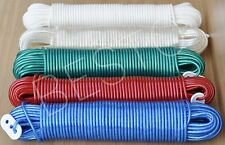 10/15/20/25/30M Plastic Strong Core Rope Washing Clothes Dryer Line Twine
