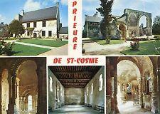 Alte Postkarte - Prieure de St-Cosme