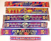 Barcelona Scarf Barca Vintage Football Scarves Bufanda Futbol Spain Liga Retro