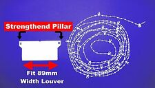Vertical Blind 89MM Repair Kit Pack of 30 weights chain and hangers SPARE PARTS