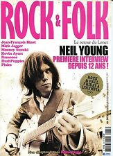 Rock & Folk #483 -Neil YOUNG- Mick Jagger, Ramones, Pixies, Richard Hawley,...