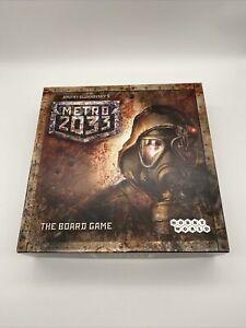 Dmitry Glukhovsky's Metro 2033 Board Game In English