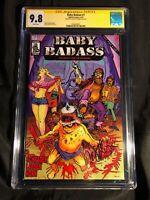 BABY BADASS #1 Signed By David Schrader (MR) HYBRAU COMICS CGC SS 9.8 NM/MT