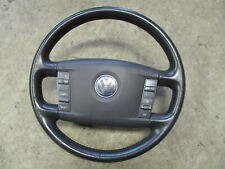 Lederlenkrad VW Phaeton Touareg Lenkrad Multifunktion ANTHRAZIT 3D0419091K 7B4