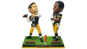 Aaron Rodgers to Randall Cobb Green Bay Packers Hail Mary Bobblehead NFL #/216