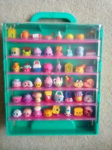 Shopkins Carrying Display Storage Case ,Holds 48 Shopkins Included