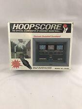 New Vintage Hoopscore Outdoor Basketball Electric Scoreboard Outdoor Driveway