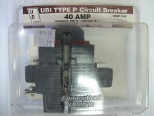 ITE UBI P240,  40 Amp, 2 POLE, 240 VOLT Pushimatic Circuit Breaker NEW