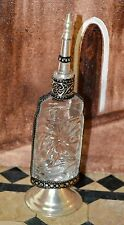Moroccan Hand Made Recycled perfume bottle Arabian Decor Rosewater Bottle