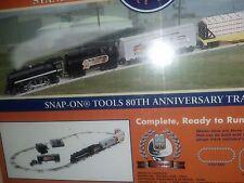 Vintage Lionel O-27 Scale Train Set. NIB. Snap-On 80th Anniversary