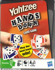 Yahtzee Hands Down Family Card Game By: Hasbro May the Bast hand Win NEW