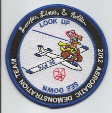 USAFA 94th FTS 2012 AEROBATIC DEMO TEAM patch