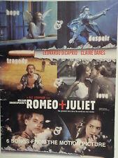 songbook ROMEO + JULIET 6 songs