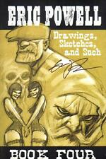 Eric Powell Drawings Sketches & Such Book Four 2012 SDCC Signed VF-  AB