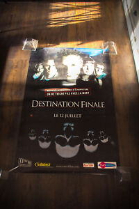 "FINAL DESTINATION 31"" x 47"" Rolled French Original Vintage Movie Poster 2000"