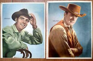 VINTAGE GUNSMOKE JAMES ARNESS DENNIS WEAVER TV SERIES POSTER LOT ARG 1960's