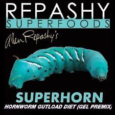Repashy Superhorn Hornworm Gutload Diet Bearded Dragon Iguana Reptile Lizard