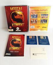 Amiga Mortal Kombat Game BIG BOX 1993 Floppy Disk Retro Acclaim Midway Gaming