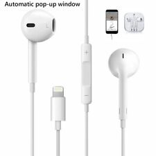 For Apple iPhone XR XS X 8 Plus, 8 7 Plus, 7 Pop-Up lightning EarPhones with mic