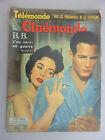 CINEMONDE 1958 BB S'EN VA EN GUERRE BRIGITTE BARDOT TONY CURTIS