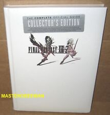Final Fantasy XIII-2 Collector's Edition Hardcover Official Guide Book PS3 New