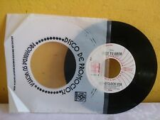 "SEX-O'CLOCK USA -DALE TU AMOR / ERES MI HOMBRE MEXICAN 7"" SINGLE CS DISCO"