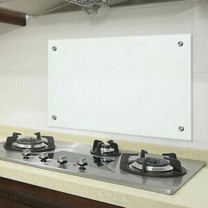 Küchenrückwand Küche Spritzschutz viele Sicherheitsglas 6mm Größen Glas ESG