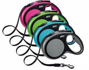 Flexi New Comfort Retractable Dog Leash (Tape), Soft Grip