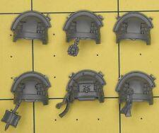 Warhammer 40K Space Marines Grey Knights Terminator Shoulder Pads (B)