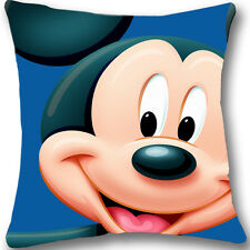 Mickey Mouse Custom Zippered 18x18 Cushion Cover Case Decorative Pillowcase L263