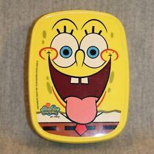 SPONGEBOB SQUAREPANTS Rosti Mepal Lunchbox Yellow 2004 Viacom Lunch Bread Box