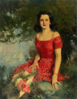 Howard Chandler Christy Cushing Canvas Print 16 x 20    #4073