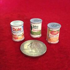 "1:6 Handmade miniature for 11""-12"" size dolls - Canned food #2"