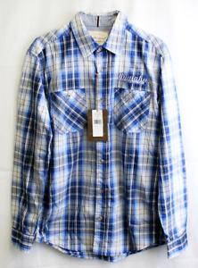 Yamaha Weatherproof Vintage Plaid Long Sleeve Shirt Small PN 154645