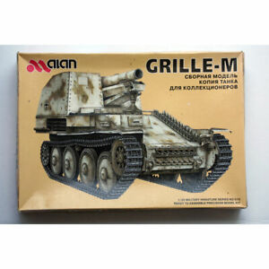ALAN 015 1/35 WWII GERMAN GRILLE-M  - MODEL KIT - SECONDHAND