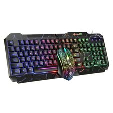 Gaming Waterproof RGB Keyboard And Mouse