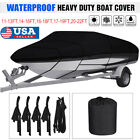 11-13 14-16 17-19 20-22 Ft Boat Cover Fishing Ski V-hull Trailerable Waterproof
