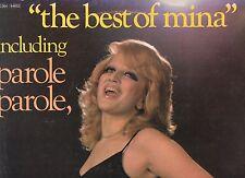 MINA disco LP 33 giri THE BEST OF made in FRANCE 1973 stampa FRANCESE Parole par