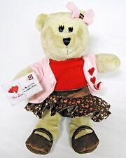 Starbucks Bearista Bear Valentines Day Plush True Love Girl Teddy 102 Ed. 2011