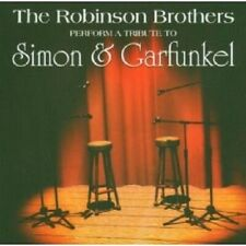 "THE ROBINSON BROTHERS ""A TRIBUTE TO SIMON & GARFUNKEL"" CD NEW+"