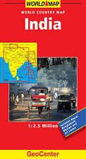 Good, India GeoCenter World Map, Mairs, Book