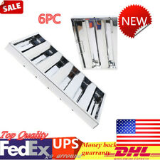 """New listing 6Pcs 25"""" x 16"""" Commercial Kitchen Exhaust Hood Grease Filter Stainless Steel"""