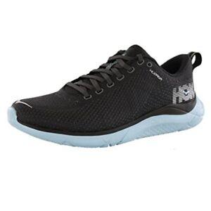 Hoka One One Hupana 2 Running Shoe Black Sky Blue Womens 7 Speed Sneaker New