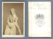 Actrice Nilsson, dans Martha vintage CDV albumen carte de visite  CDV, tirage