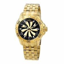 Invicta Men's 25850 Speedway Automatic 3 Hand Gold Black Dial Watch
