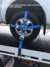 Car Carrying Ratchet Tiedown Trailer Car Wheel Harness Car Restraint