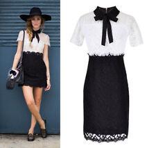 Lace Above Knee, Mini Shirt Dresses